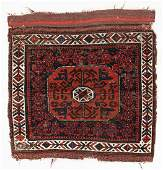 Beluch Bagface, Afghanistan, 19th C., 2'7'' x 2'6''