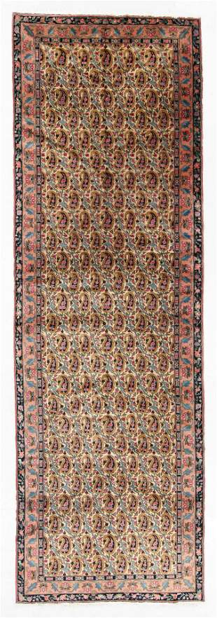 Agra Rug, India, Early 20th C., 5'1'' x 15'9''