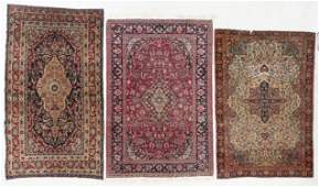 Three Antique Persian Rugs