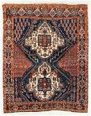 Afshar Rug, Persia, Early 20th C., 4'9'' x 6'1''