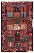 Baktiari Rug, Persia, Early/Mid 20th C., 5'5'' x 8'5''