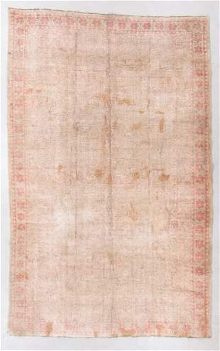 Cotton Agra Rug, India, Early 20th C., 8'10'' x 13'10''