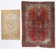 Two Antique Persian & Turkish rugs