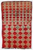 Moroccan Rug, , Mid 20th C., 5'10'' x 9'1''