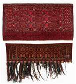 Two Antique Turkmen Trappings