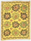 Vintage Central Asian Suzani, 6'3'' x 8'2''