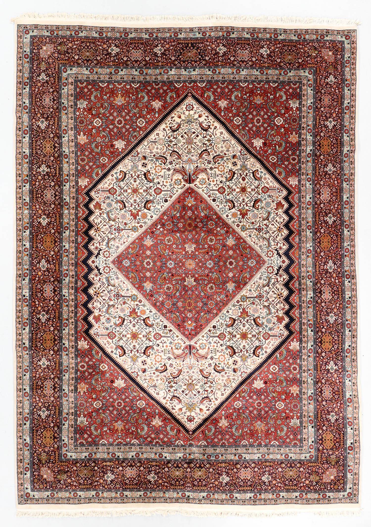 Fine Vintage Indo Tabriz Rug, 8'1'' x 11'6''