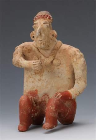 Pre-Columbian Jalisco Pottery Figure