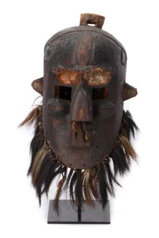 Central African Binji Helmet Mask