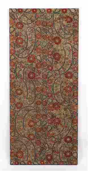 Late 17th/18th C. Ottoman Embroidery, Ex. Guido Goldman