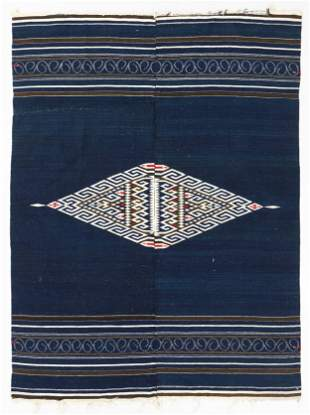Mexican Wool Saltillo, Circa 1900, 4'8'' x 6'2''