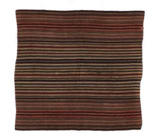 Old Tibetan Blanket, Central Tibet, Early 20th C.