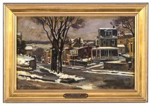 "Giovanni Martino (1908-1997) ""Patches of Snow"""