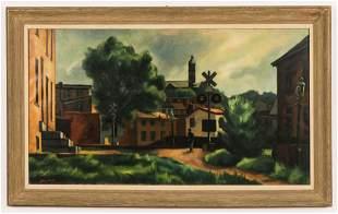 """Giovanni Martino (American, 1908-1997) """"At the"""