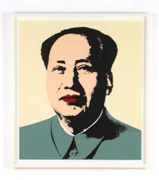 "Sunday B. Morning (After Andy Warhol) ""Mao"""