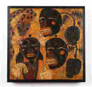 Dave Tinsley (American, b. 1951) acrylic on board
