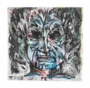 Tom Fish (American, b. 20th Century) Self-Portrait