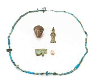 Group of Egyptian Artifacts