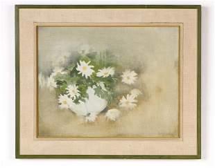 "Jane Wilson (American, 1924-2015) ""Daisies,"" 1964"
