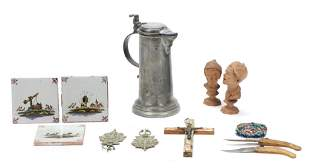 Collectors Group of Continental Cabinet Items