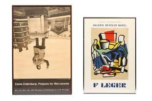 2 Vintage Exhibition Posters