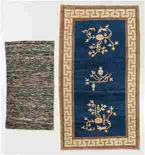 Antique Samarkand + Chinese Rugs (2)