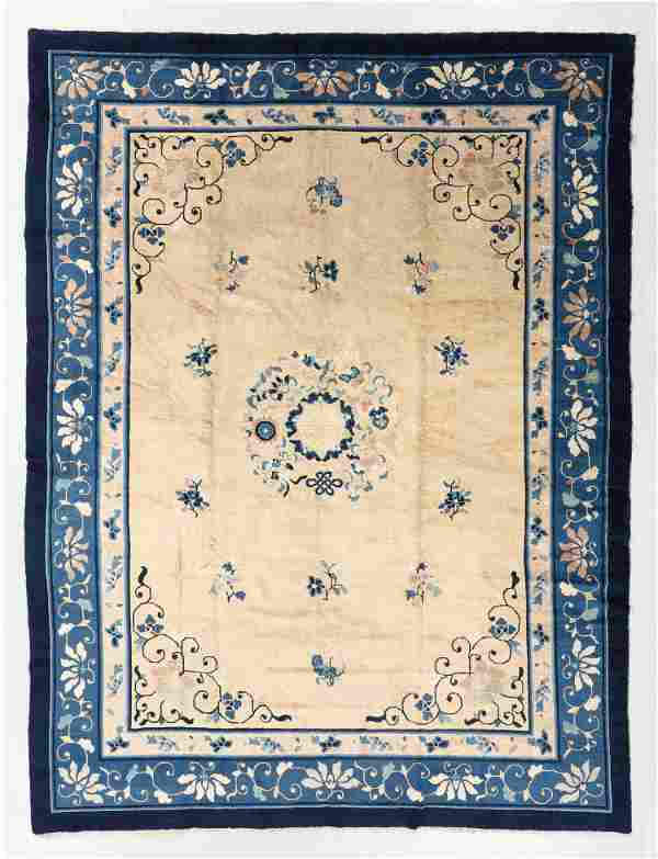 Peking Rug, China, Circa 1900, 8'8'' x 11'6''
