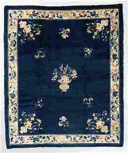 Peking Rug, China, Circa 1900, 8'0'' x 9'7''