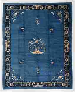 Peking Rug, China, Circa 1900, 9'3'' x 11'6''