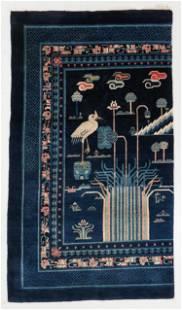 Peking Rug, China, Circa 1900, 4'2'' x 7'3''