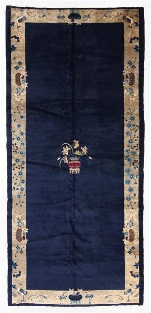 Peking Rug, China, Circa 1900, 6'5'' x 14'2''