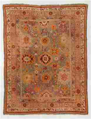 Oushak Rug, Turkey, Circa 1900, 6'4'' x 8'2''