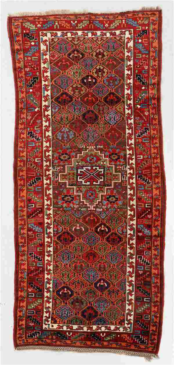 West Persian Kurd Rug, 19th C., 3'9'' x 6'8''