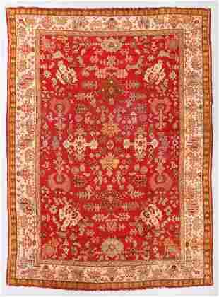 Oushak Rug, Turkey, Early 20th C., 10'3'' x 13'10''