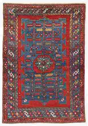 Kazak Rug, Caucasus, Early 20th C., 4'8'' x 6'9''
