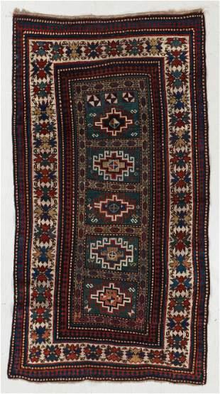 Kazak Rug, Caucasus, Circa 1900, 3'5'' x 6'3''