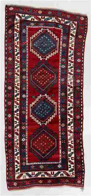 Kazak Rug, Caucasus, Early 20th C., 4'7'' x 10'0''