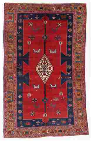Large Kazak Rug, Caucasus, Early 20th C., 6'4'' x