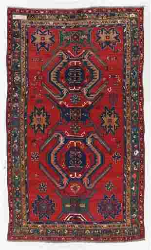Large Kazak Rug, Caucasus, Circa 1900, 6'5'' x 10'10''