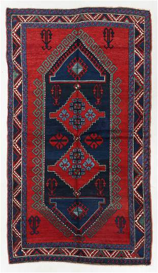 Kazak Rug, Caucasus, Early 20th C., 5'5'' x 9'9''