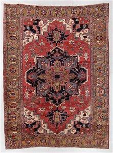Serapi Rug, Persia, Late 19th C., 9'3'' x 12'10''