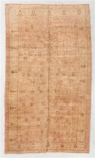Oushak Rug, Turkey, Early 20th C., 5'0'' x 8'9''