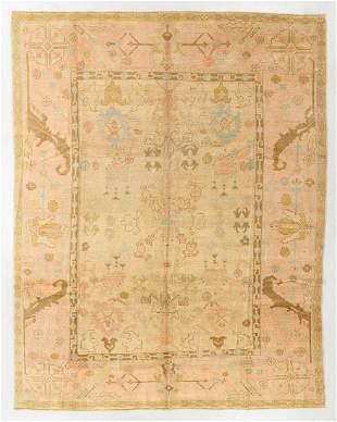 Vintage Oushak Rug, Turkey, 8'9'' x 11'4''