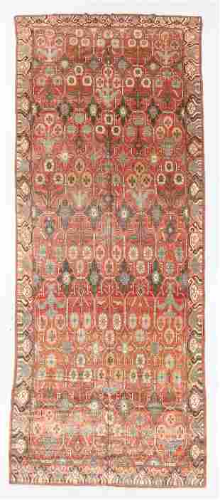 Vintage Khotan Rug, Turkey, 7'4'' x 18'3''