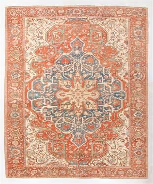 Fine Vintage Serapi Rug, Turkey, 13'5'' x 16'4''