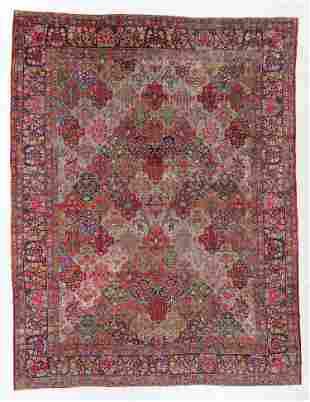 Fine Kerman Garden Rug, Persia, Circa 1900, 9'0'' x