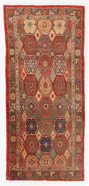 Vintage Khotan Rug, Turkey, 3'10'' x 8'6''