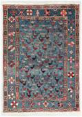 Vintage Azeri Folklife Rug, Turkey, 4'8'' x 6'8''