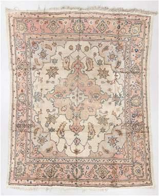 Oushak Rug, Turkey, Circa 1920, 9'2'' x 11'1''