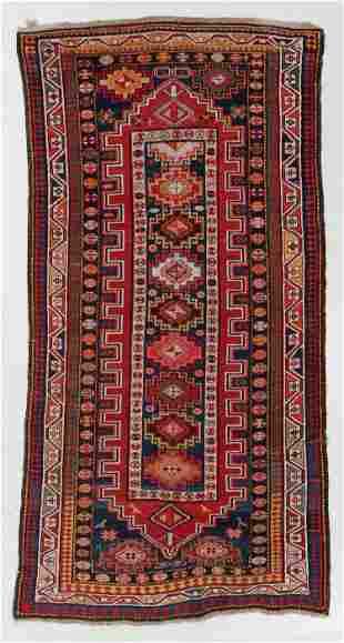 Kazak Rug, Caucasus, Early 20th C., 4'4'' x 8'9''
